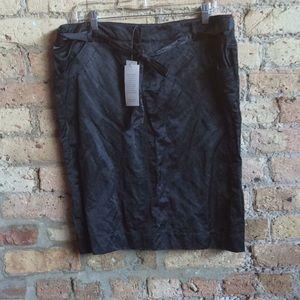 Eileen Fisher satin skirt
